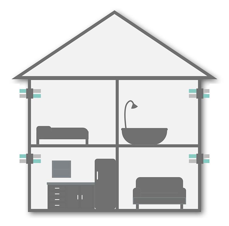 Dezentrale Wohnraumlüftung